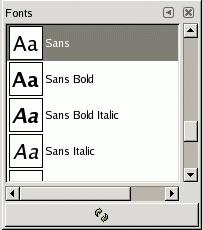 3 7  Fonts Dialog