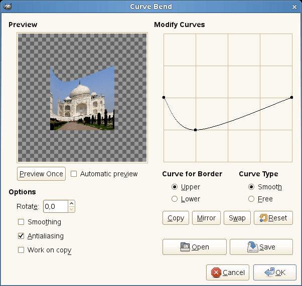 Curve bend filter options 129e6ff0ff