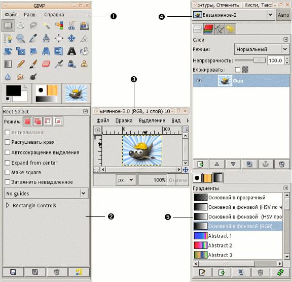 Программа Gimp 2.6 На Русском
