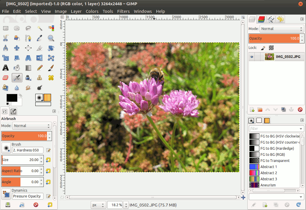 how to rotate text in gimp 2.6