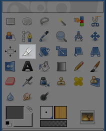 Crop Tool icon in Toolbox