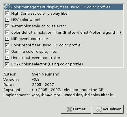 Modules for Gestionnaire de fenetre