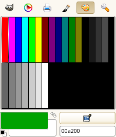 Palette Color Selector