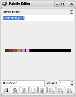 The Palette Editor