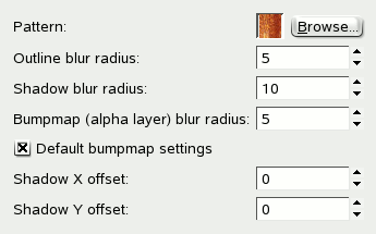 3D Outline options