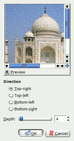 Apply Canvas options