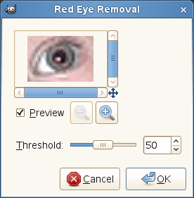 Red Eye Removal options