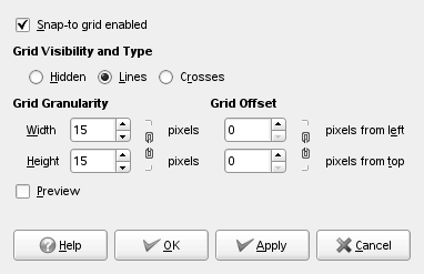 Grid options