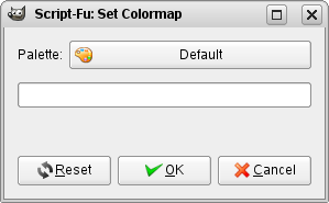 The Set Colormap window