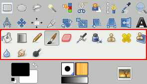 The Paint Tools (Tools Box)