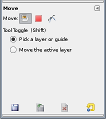 Move Tool options