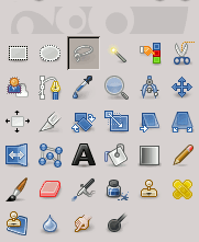 Free Selection icon in the Toolbox
