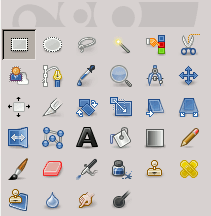 Rectangle Select icon in the Toolbox