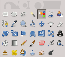 Select by Color tool icon in the Toolbox