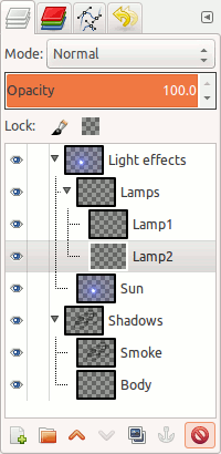 New layer groups