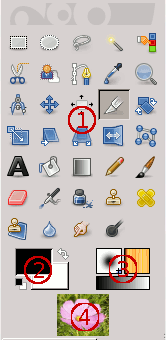 Screenshot of the Toolbox