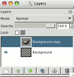 Unstuck layer invisibility