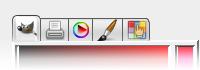 Esempio di moduli caricati: moduli di selezione colore