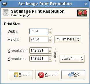 фото на печать размер